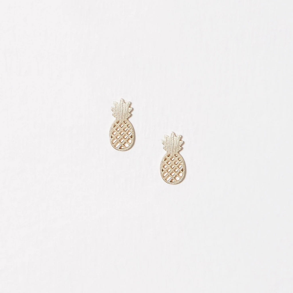 Earrings - Pineapple - Gold