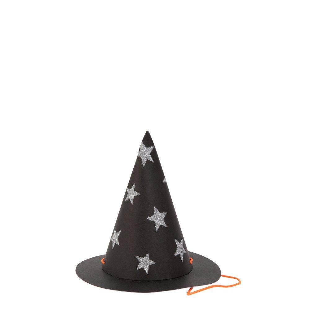 Hat - Mini Witch Hat With Stars