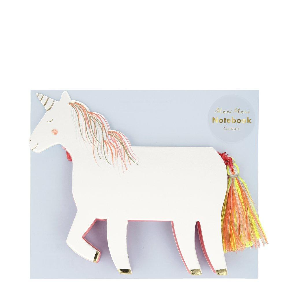 Notebook - Unicorn W/Tassel Tail
