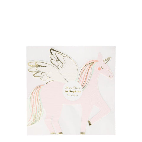 Napkins - Winged Unicorn