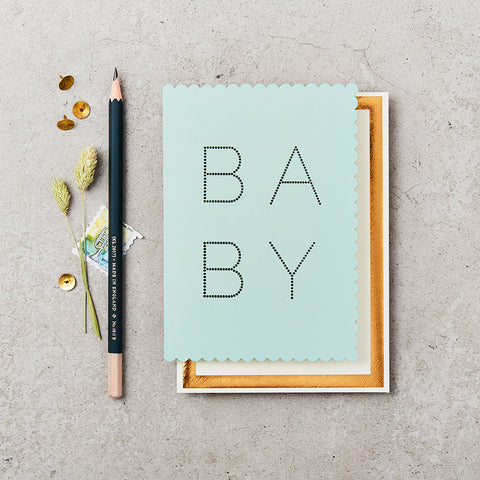 Greeting Card - Baby - Blue