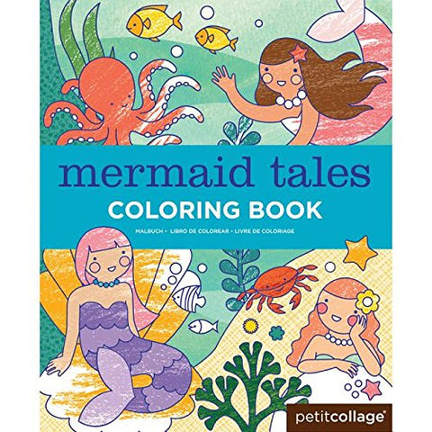 Colouring Book - Mermaid Tales