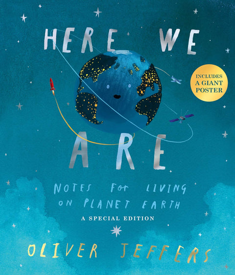 Book - Here We Are: Notes For Living On Planet Earth (Special Edition)