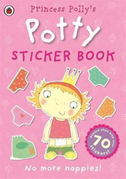 Book - Pirate Polly's Potty Sticker Activity Book
