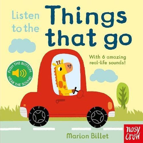 Book - Listen To The Things That Go - Sound Book