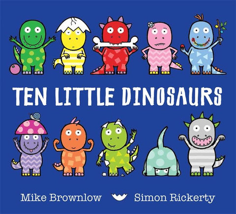 Book - Ten Little Dinosaurs