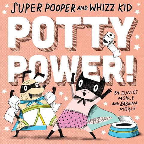 Book - Super Pooper and Whizz Kid - Potty Power