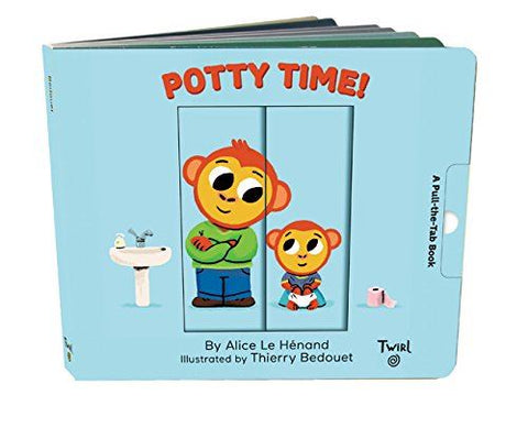 Book - Potty Time (Twirl)
