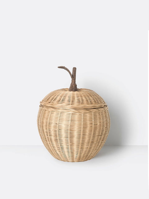 Hand Braided Basket - Apple - Large