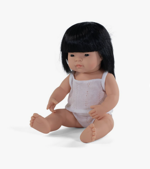 Baby Doll - Asian Girl - 38cm - BPA Free