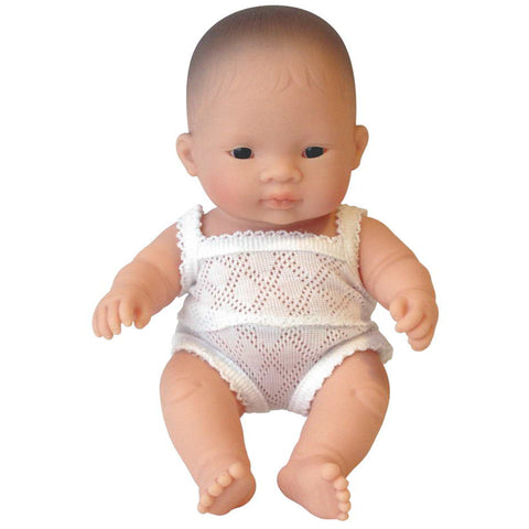 Baby Doll - Asian Boy - 21cm - BPA Free