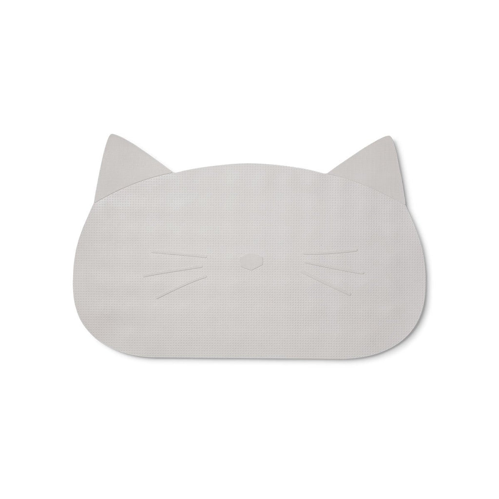 Bath Mat - Cat - Grey