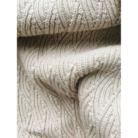 Baby Blanket - Organic Cotton - Off-White