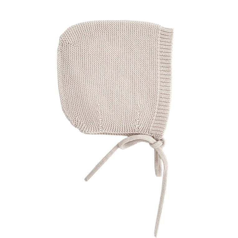 Bonnet with Love - Merinowool - Off-White