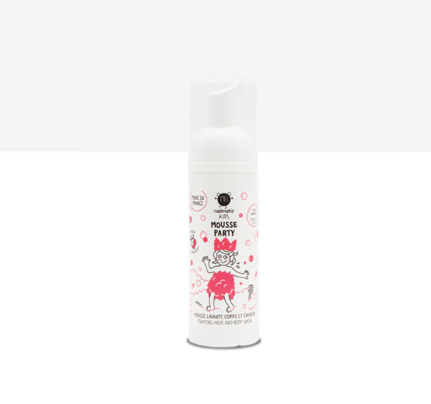 Mousse Party - Hair & Body - 95% Natural - Strawberry