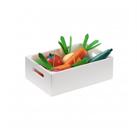 Mixed Vegetable Box - Wooden