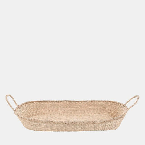 Changing Basket - Handwoven Seagrass - Nyla