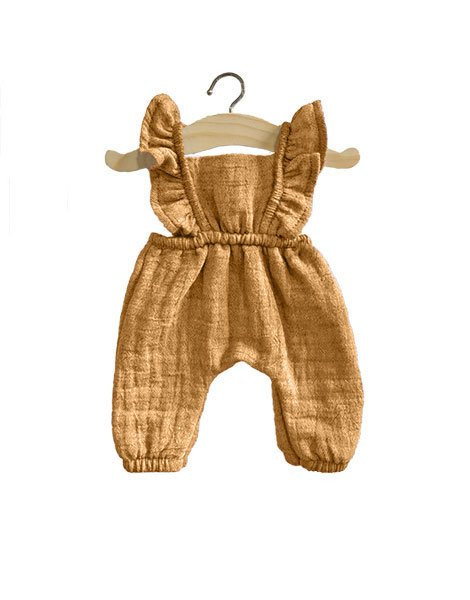 Doll Jumpsuit - Maya - Cotton - Camel