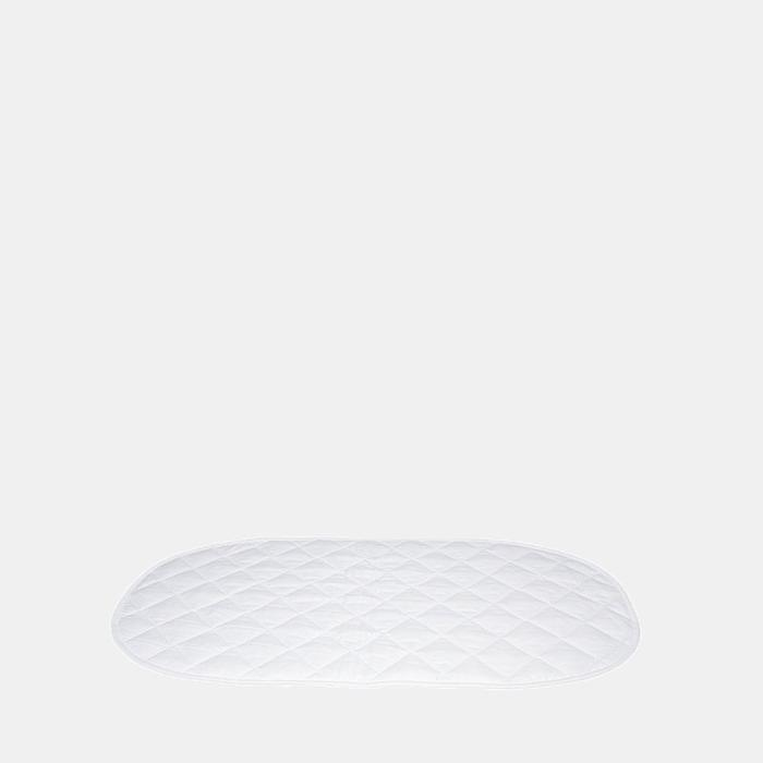 Cotton Liner For Changing Basket - White