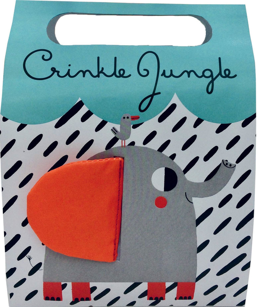 Book - Crinkle Jungle - Cloth Book
