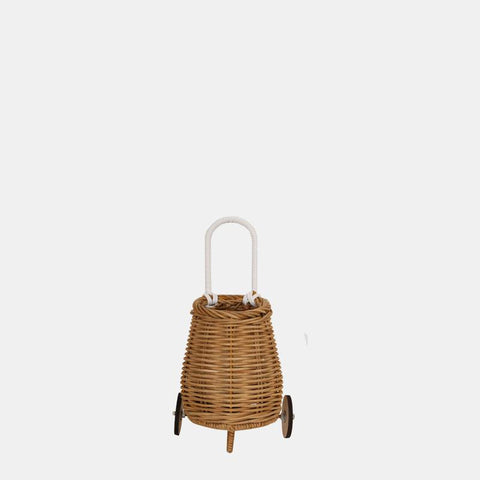 Doll Luggy - Handwoven - Natural Rattan