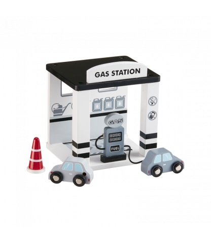 Gas Station - Wooden