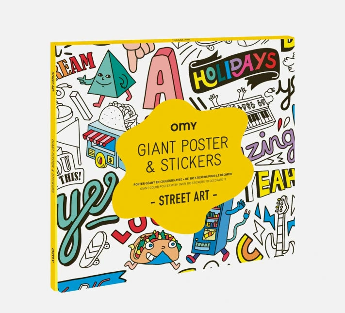 Giant Poster & Stickers - Street Art