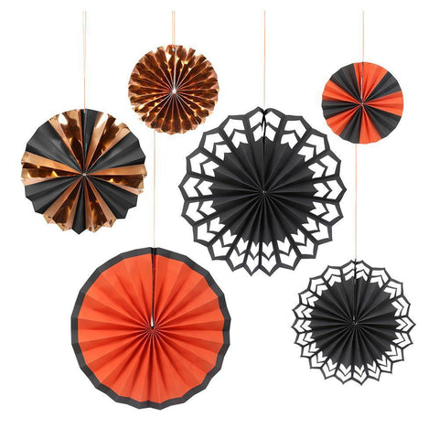 Pinwheels - Halloween - Pack of 6 in 3 Sizes