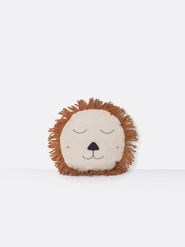 Cushion - Lion - Natural