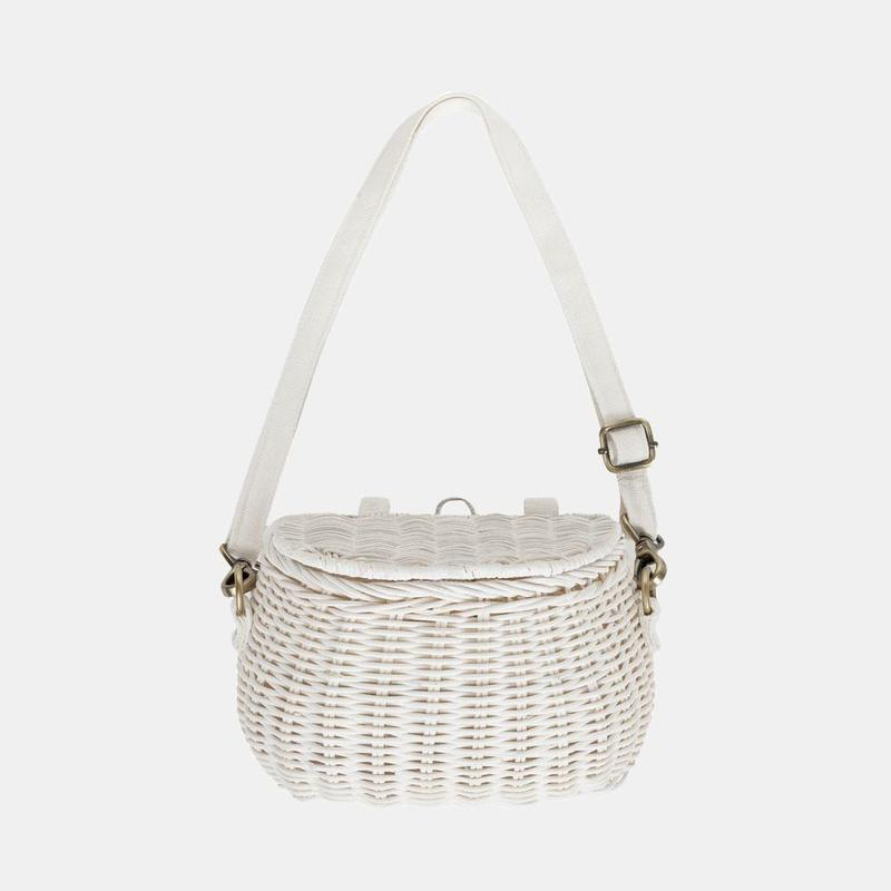 Basket - Mini Chari - White