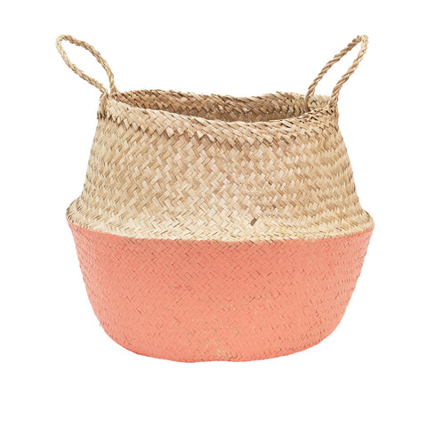 Belly Basket - Coral - Medium