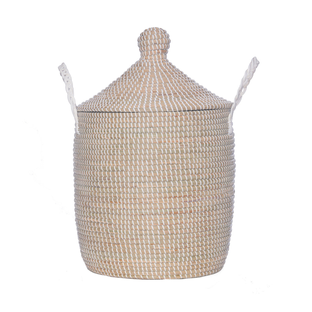 Basket - Lidded - Handmade