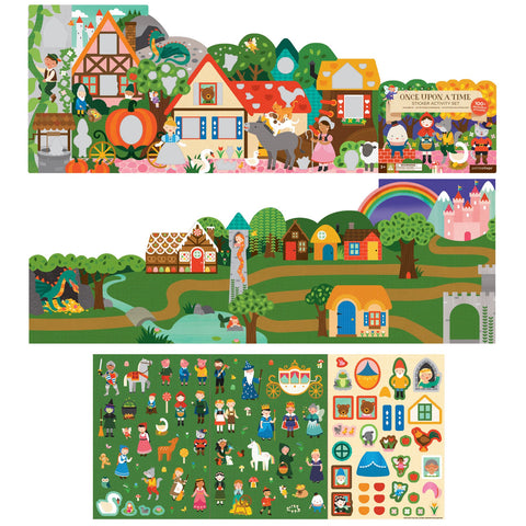 Sticker Activity Set - Fairytale