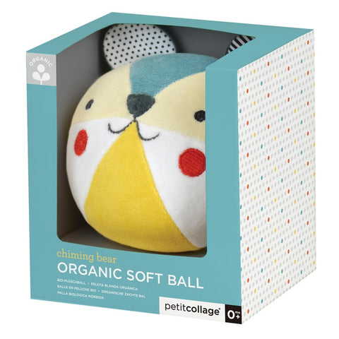 Chime Ball - Organic Cotton - Bear
