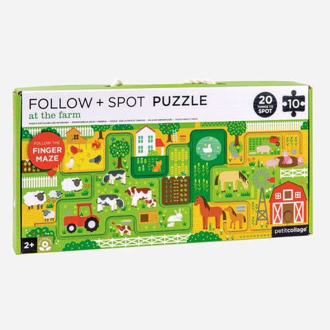 Puzzle - Around Town - At The Farm