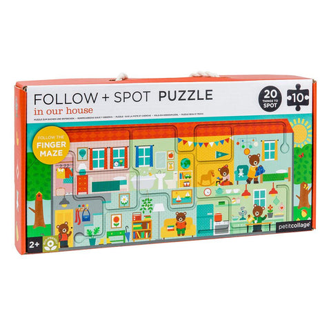 Puzzle - Around Town - In Our House