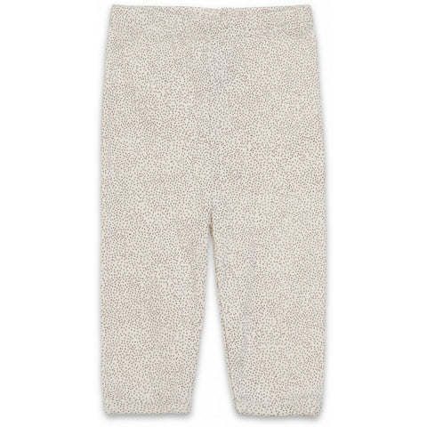 Newborn Trousers - Caramel Mini Dots