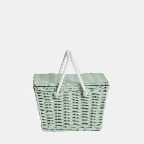 Piki Basket - Fairtrade - Mint