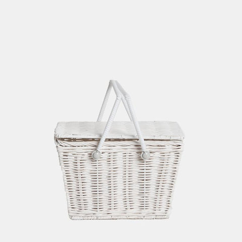 Piki Basket - Fairtrade - White