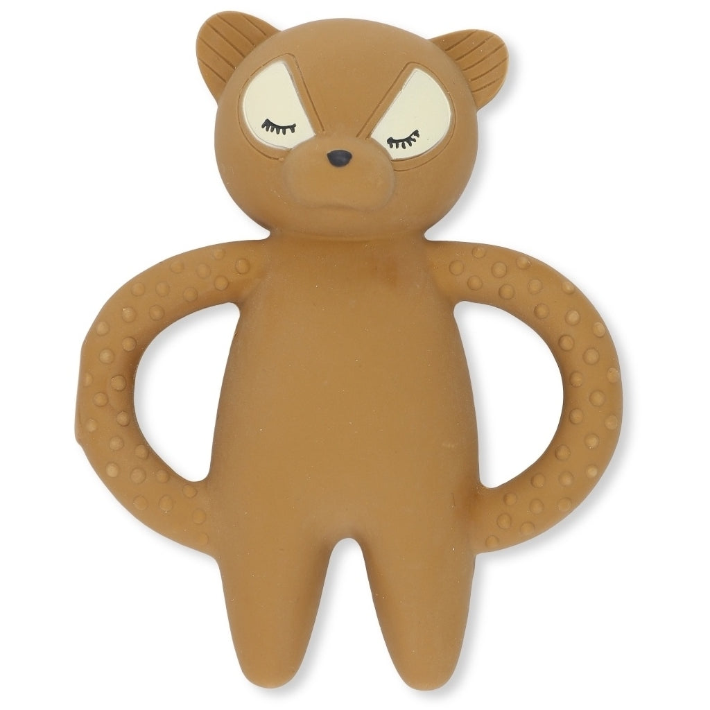 Teether - Natural Rubber - Raccoon