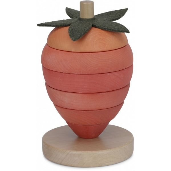 Stacking Toy - Wooden - Strawberry