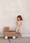 Strolley - Convertible Stroller/ Trolley - Natural Rattan