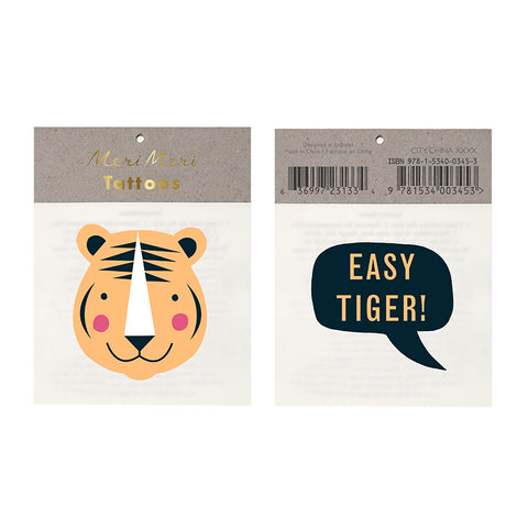 Temporary Tattoos - Easy Tiger