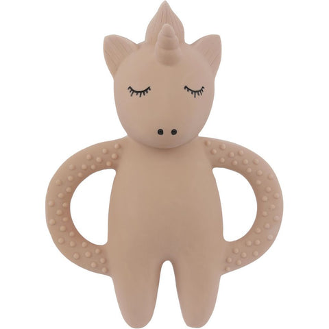 Teether - Natural Rubber - Unicorn