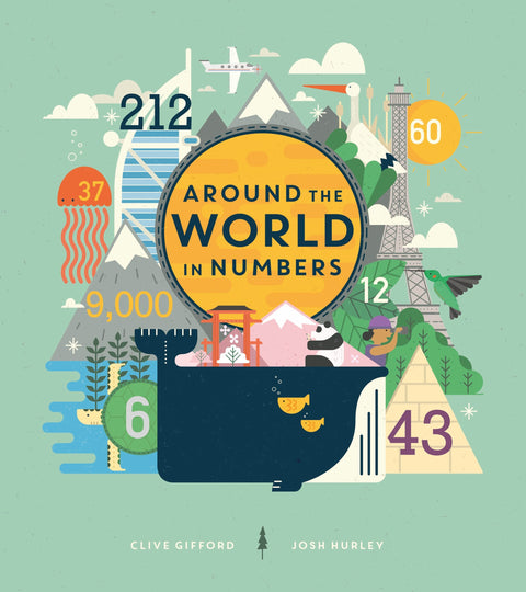 Book - Around the World in Numbers