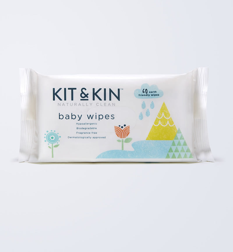 Baby Wipes - Natural - 100% Biodegradable