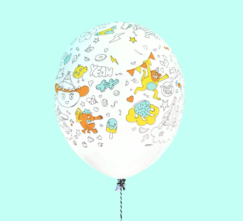 Balloon Kit - Colouring in - Set Of 5