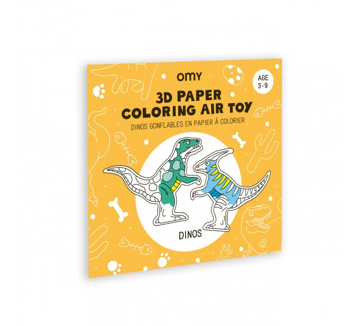 3D Air Colouring In Toy - Dinos