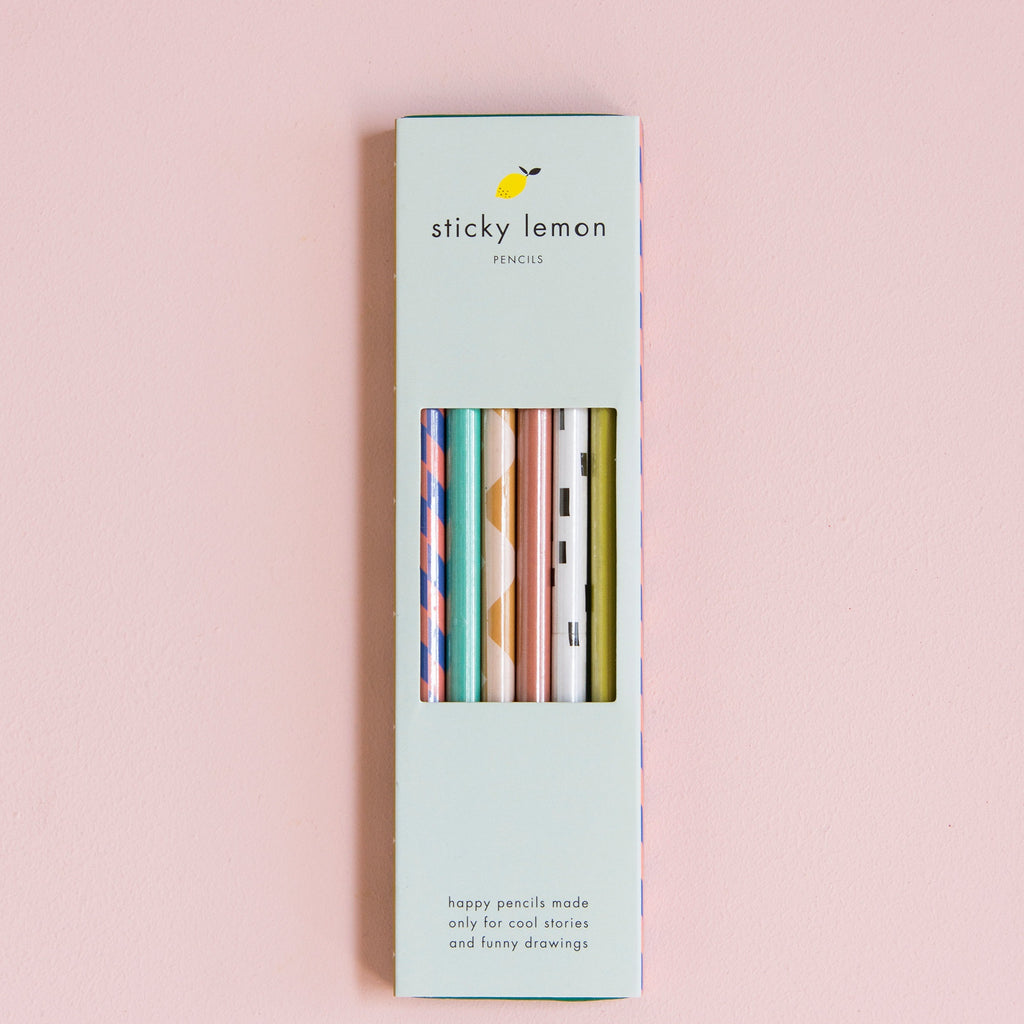Pencils - Set of 6