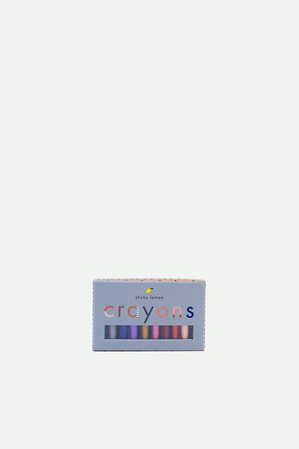 Crayons - Sticky Lemon - Set Of 10